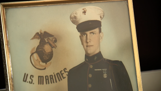 WWII Marine's remains identified
