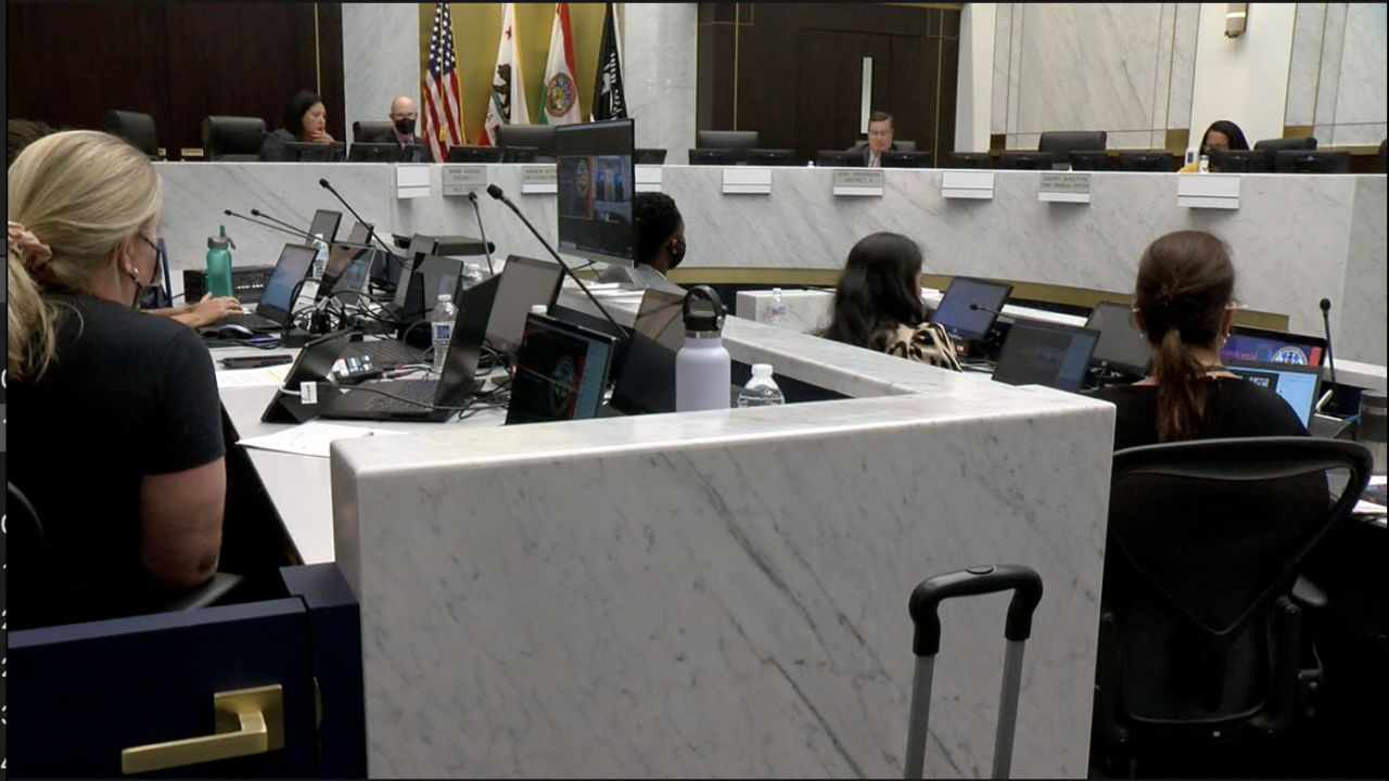 San Diego County Board Of Supervisors Hold Transparency Committee on Tuesday Evening.