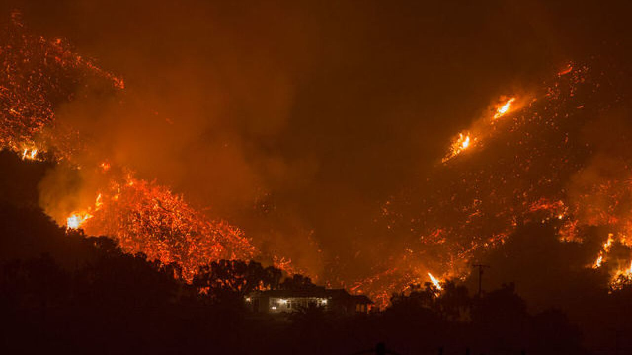 Thomas Fire forces new Santa Barbara evacuations
