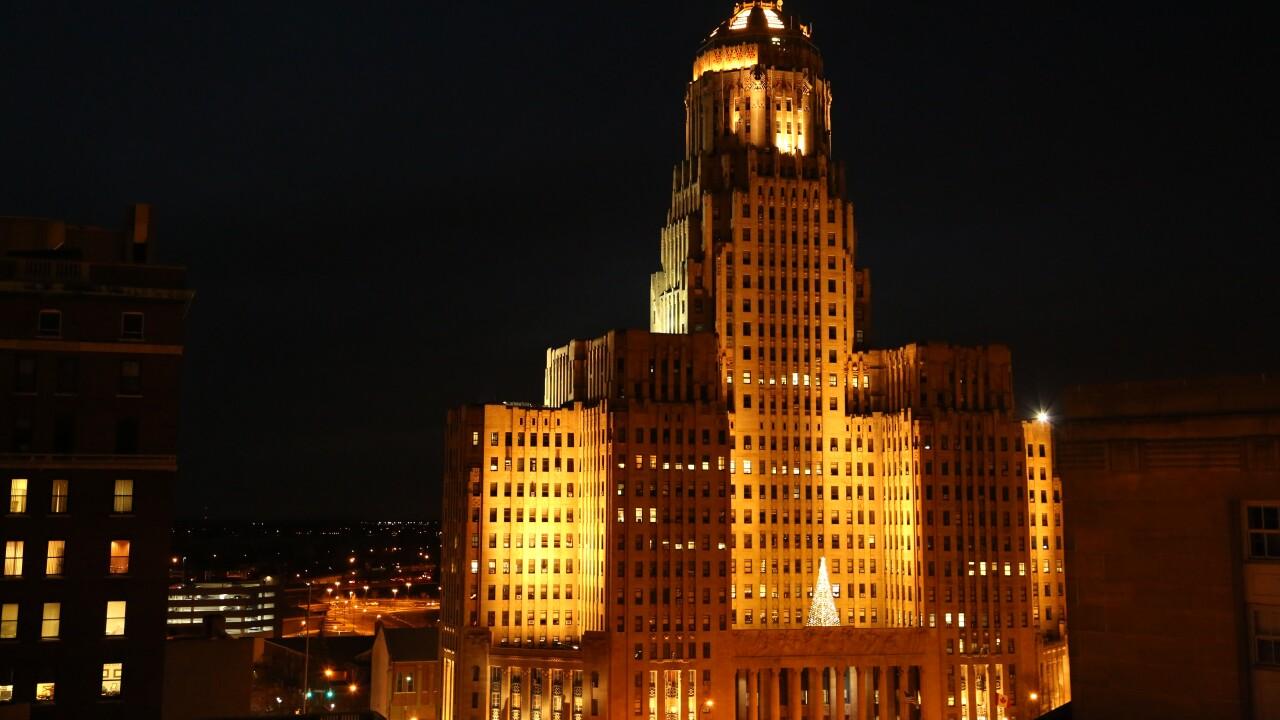 Buffalo City Hall Christmas Tree