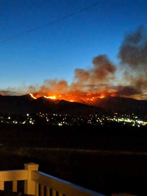 Photos: 6,515 acre 'Goose Point Fire' in Utah County now 50 percent contained