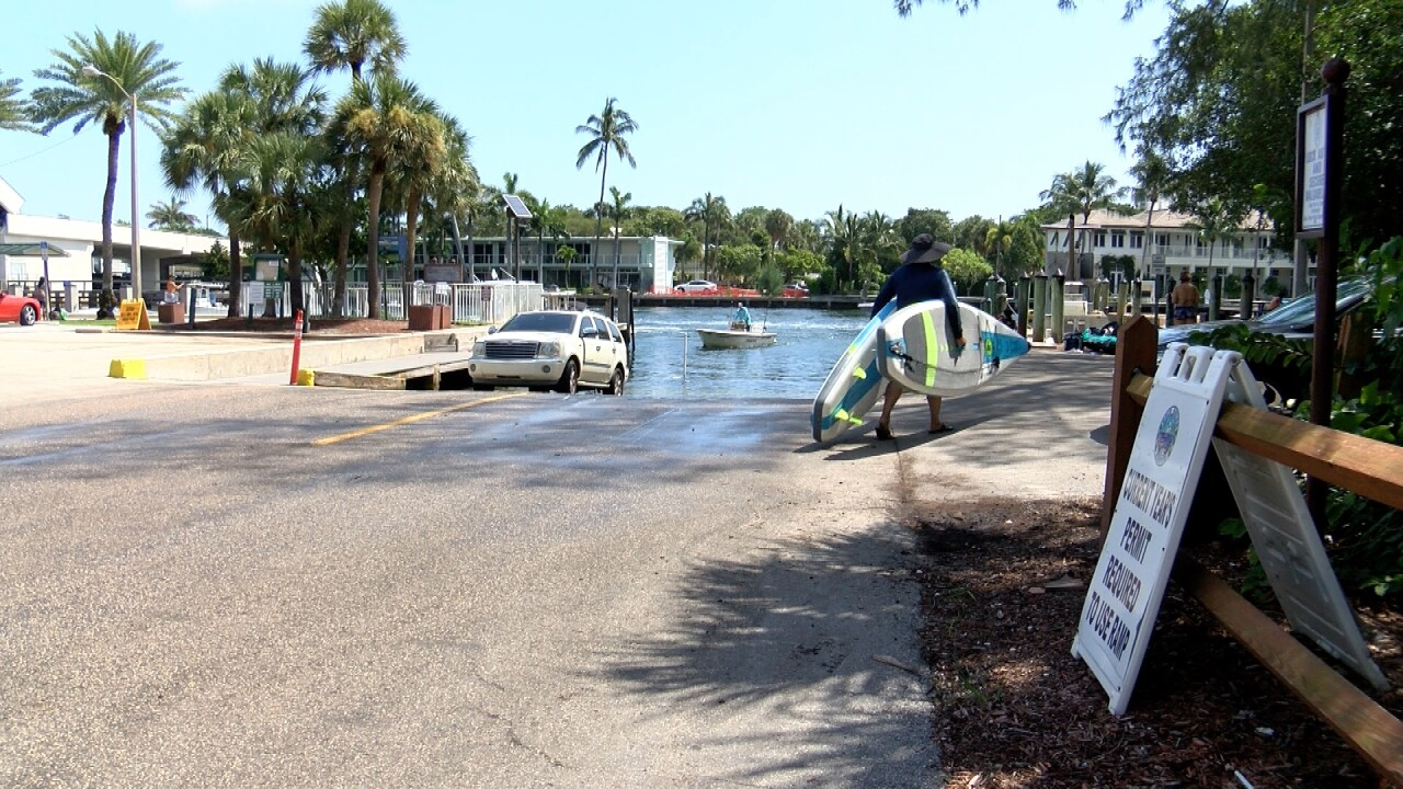 The Silver Palm Boat ramps will close for six months starting Tuesday, September 7.