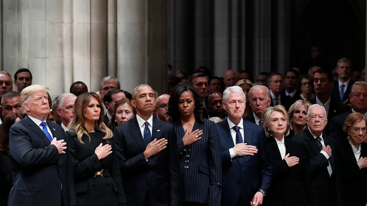 WATCH LIVE: State funeral for President Bush