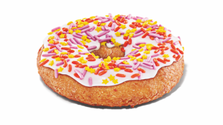 Dunkin' Just Released A Birthday Cake-flavored Doughnut