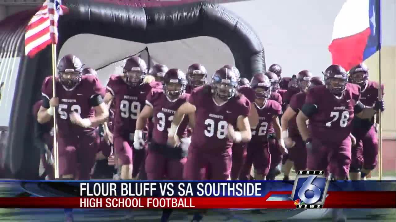 Flour Bluff beats SA Southside to advance in high school football playoffs