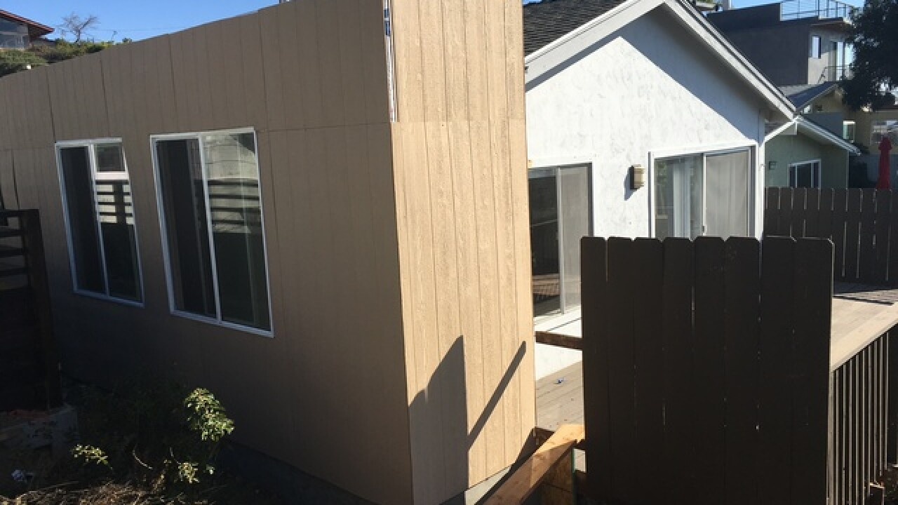 A developer added to a home, then tore it down