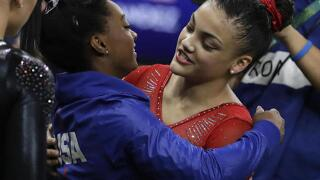 Silver for Hernandez, bronze for Biles in women's balance beam