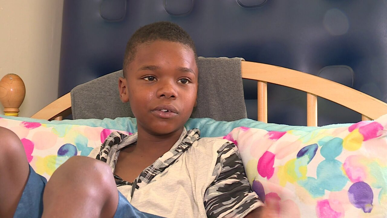 12-year-old shot at Buckroe Beach speaks out: 'They didn't expect me tolive'