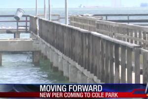 Cole Park pier reconstruction project moves forward