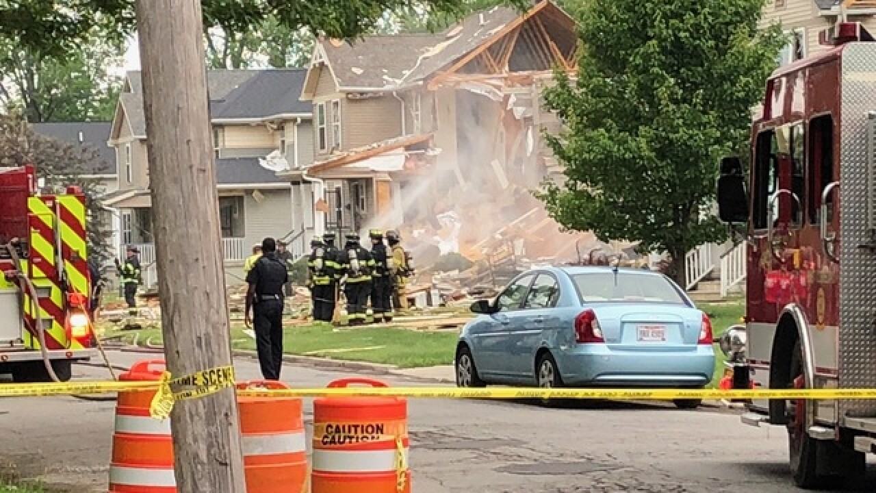 1 person dead, four homes damaged in Ohio house explosion