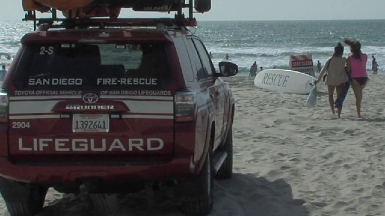 Surfer found face down in water off La Jolla Shores dies at