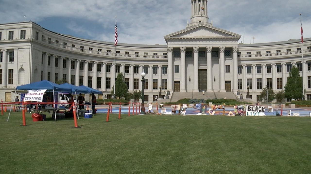 Black Lives Matter Hosts Free Covid 19 Testing As Part Of Juneteenth Celebration In Denver