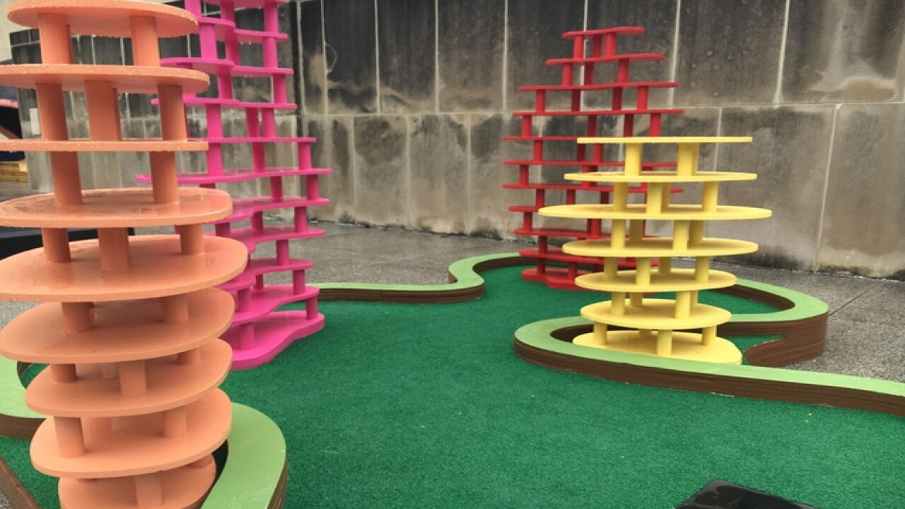 IMA mini golf: Can you guess the Indiana ties?