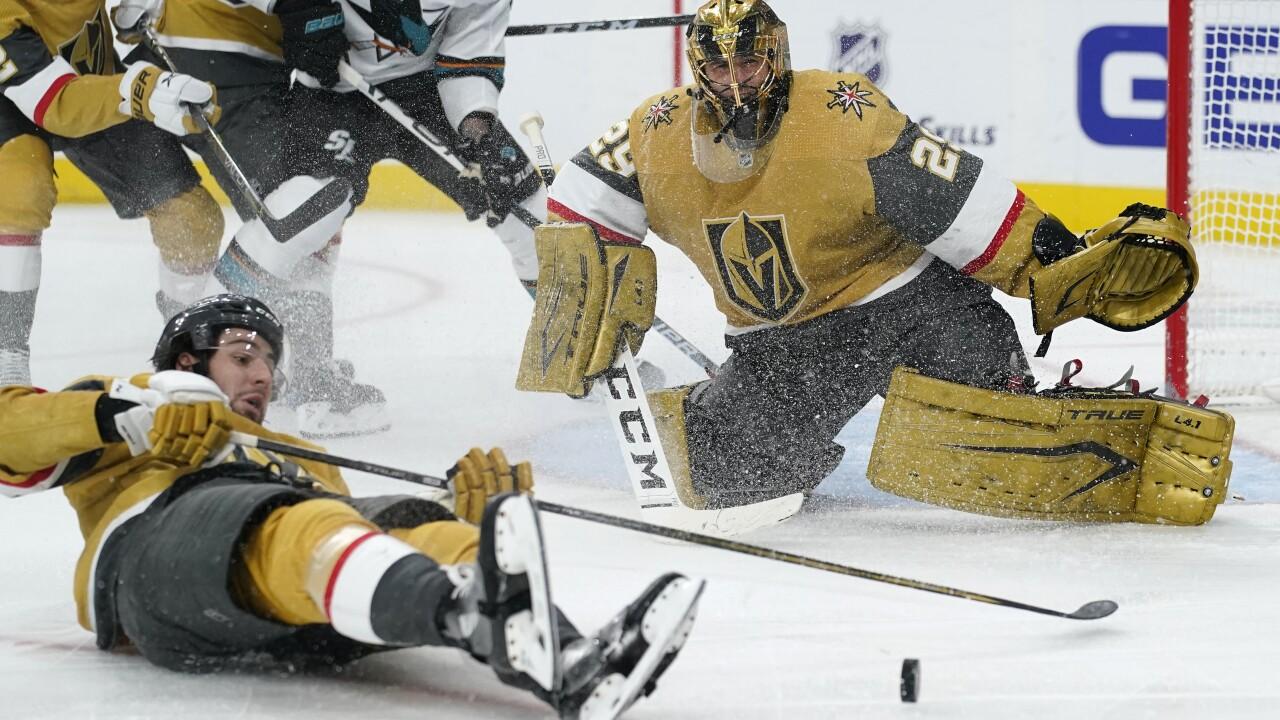 Sharks Golden Knights Hockey