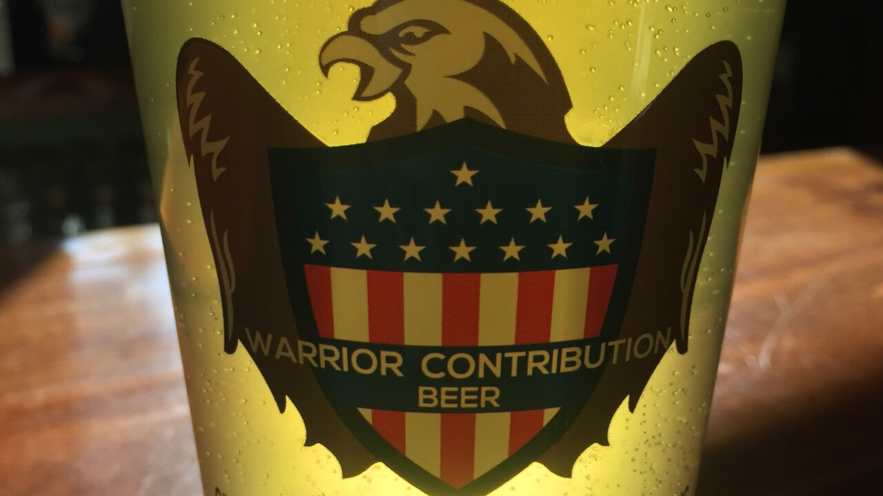 warrior contribution beer nickel beer company julian brewery