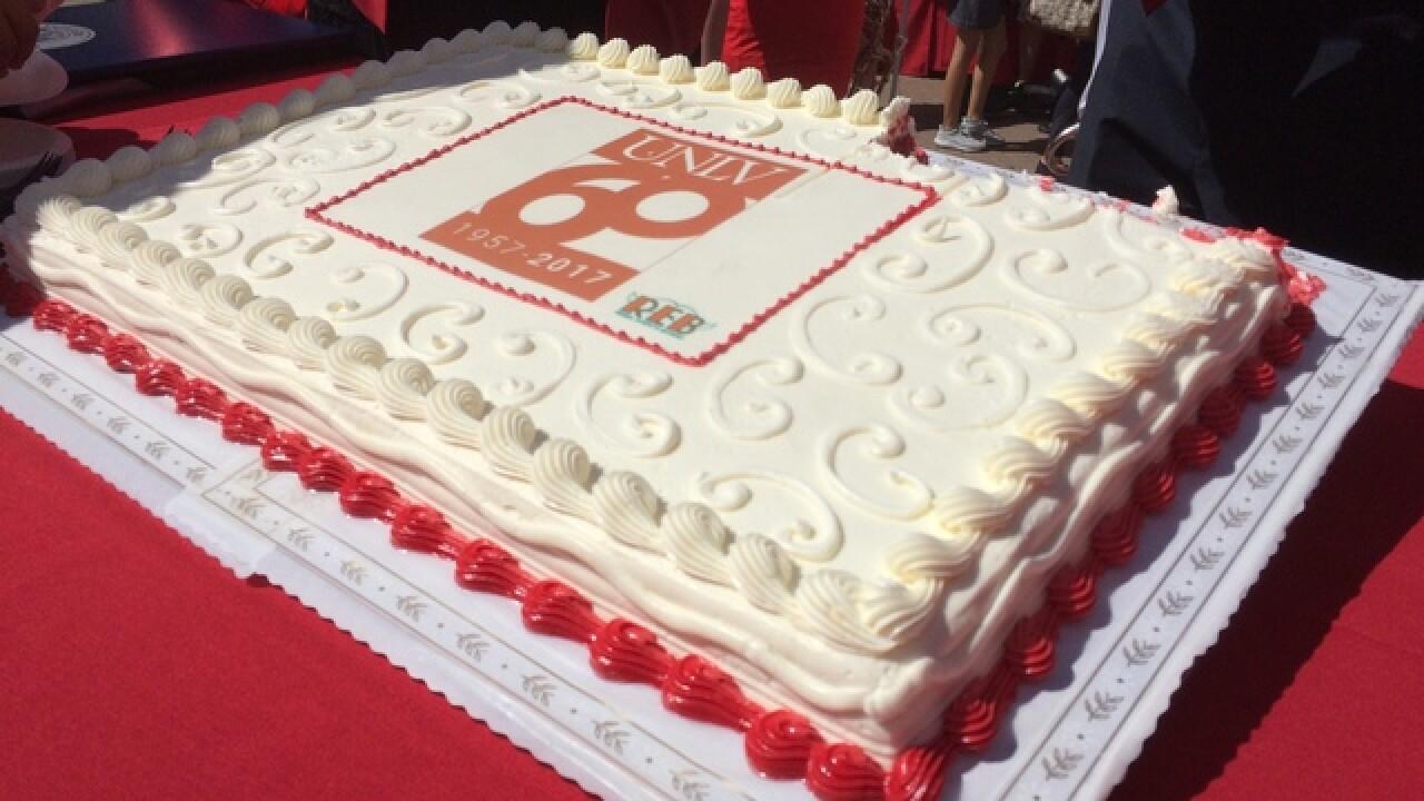 UNLV celebrates 60th birthday