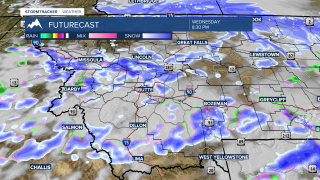 Winter weather settling into SW Montana