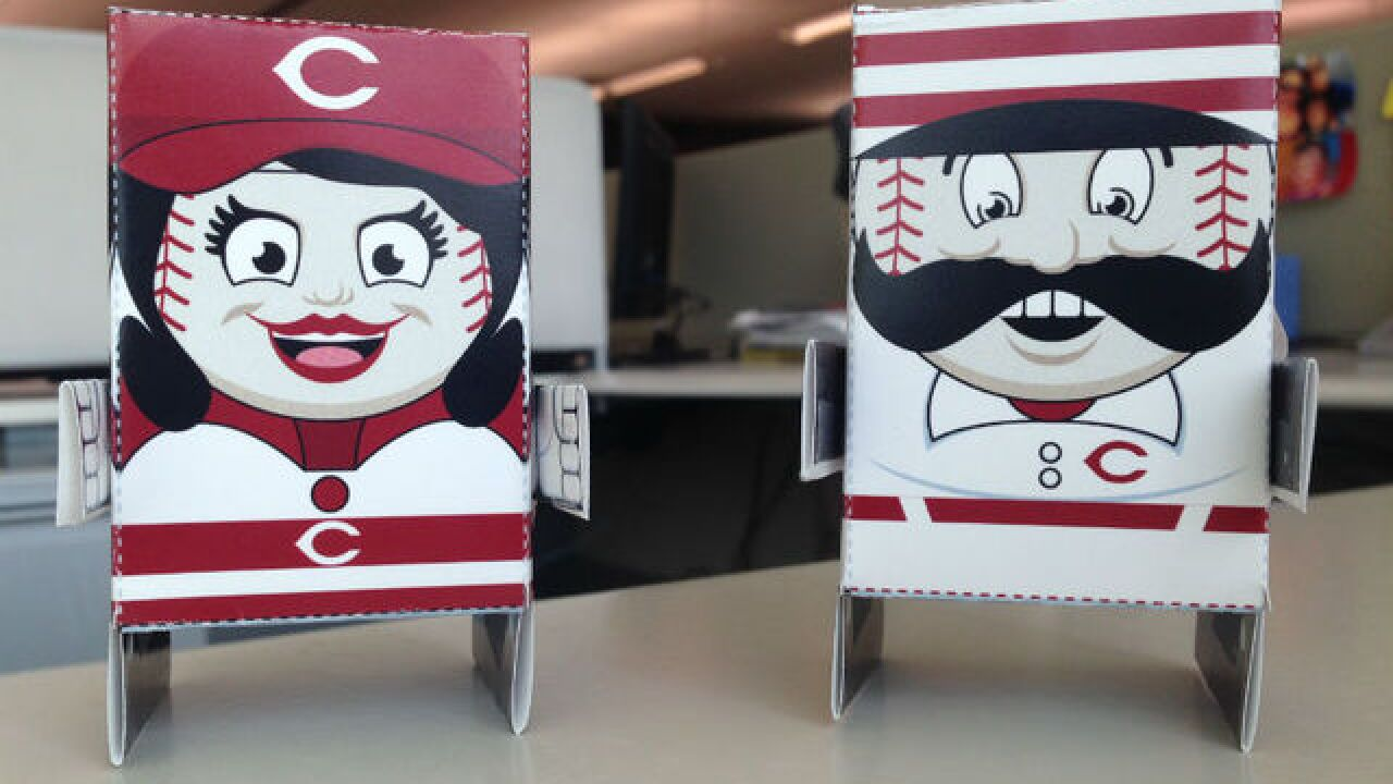 Celebrate Opening Day with these Cincinnati Reds mascot toys
