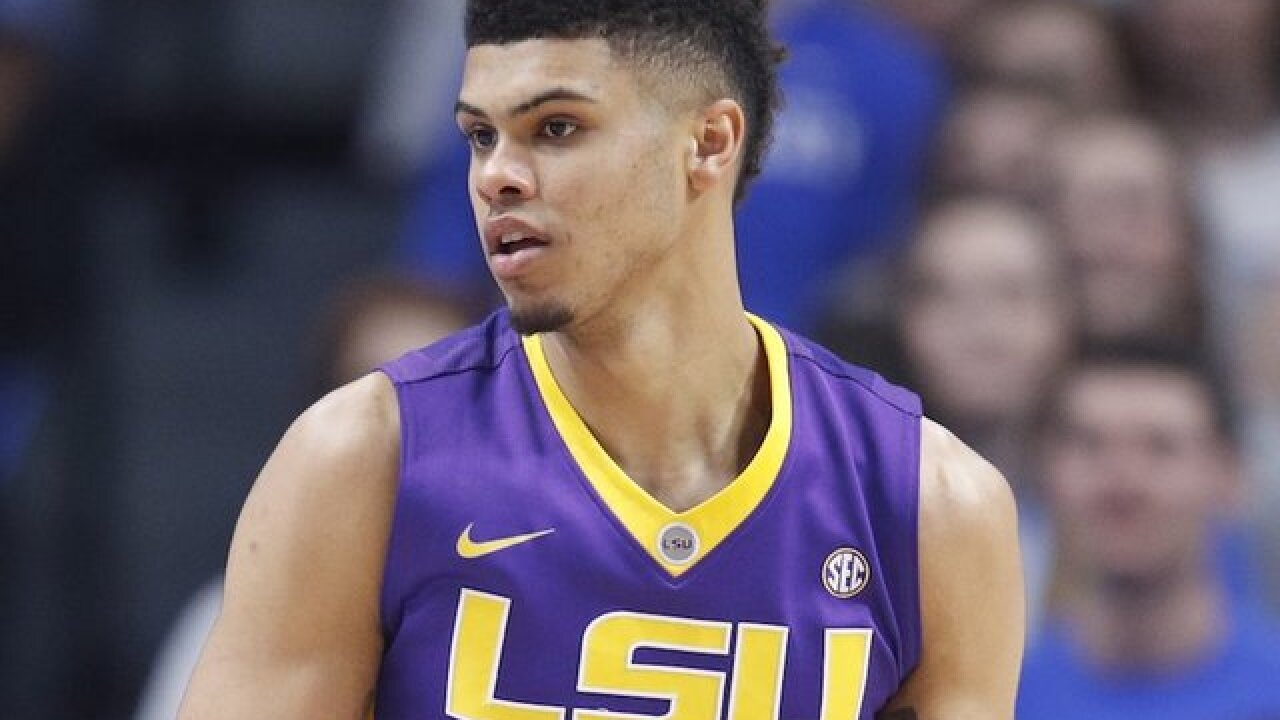 Arrest made in shooting death of LSU basketball player