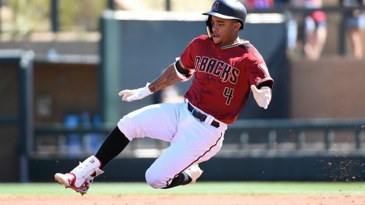 Report: Diamondbacks sign Ketel Marte to 5-year extension