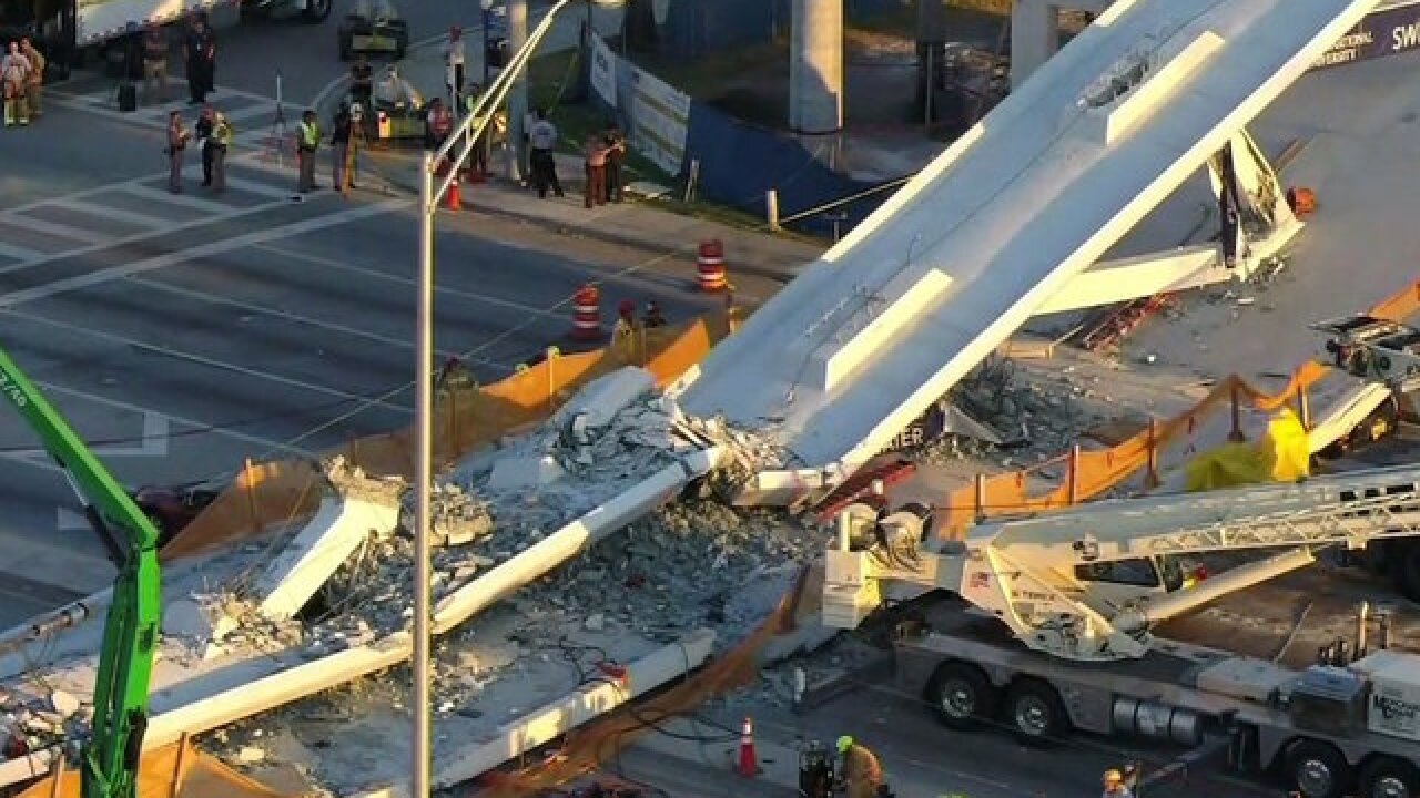 3 bodies recovered as 2 vehicles removed from Florida bridge collapse