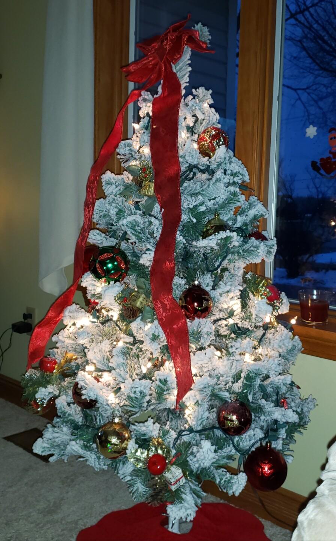 My new Christmas tree sent by Kathy Crawford.jpg