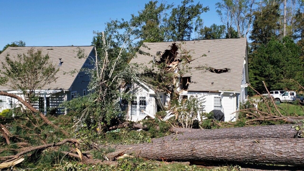 JCC officials vote to waive building permit fees related to storm damage for Michaelrecovery