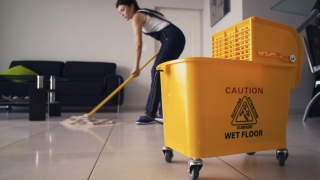 Cleaning robots are helping keep customers safe during the COVID-19 pandemic