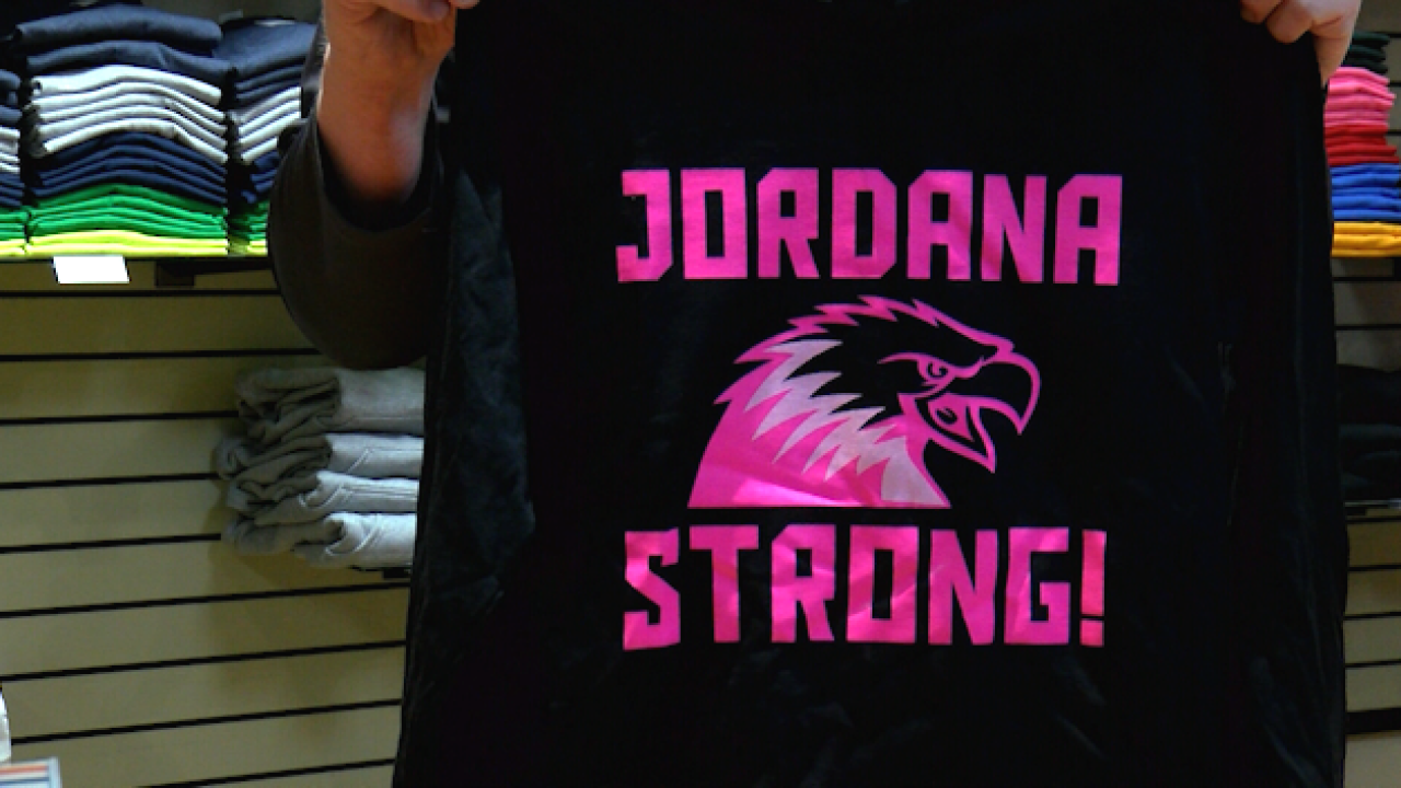 Kalispell's Universal Athletic selling Jordanna Strong clothing to benefit Hubble family