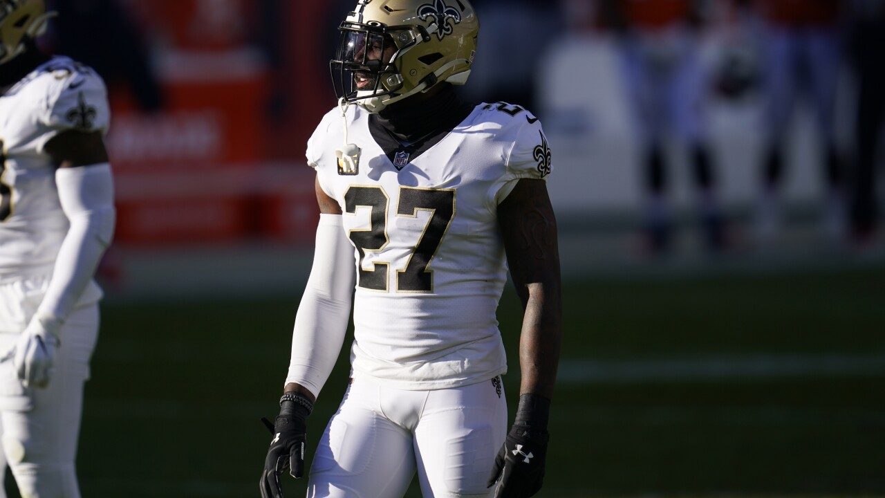 Saints Broncos Football Malcolm Jenkins