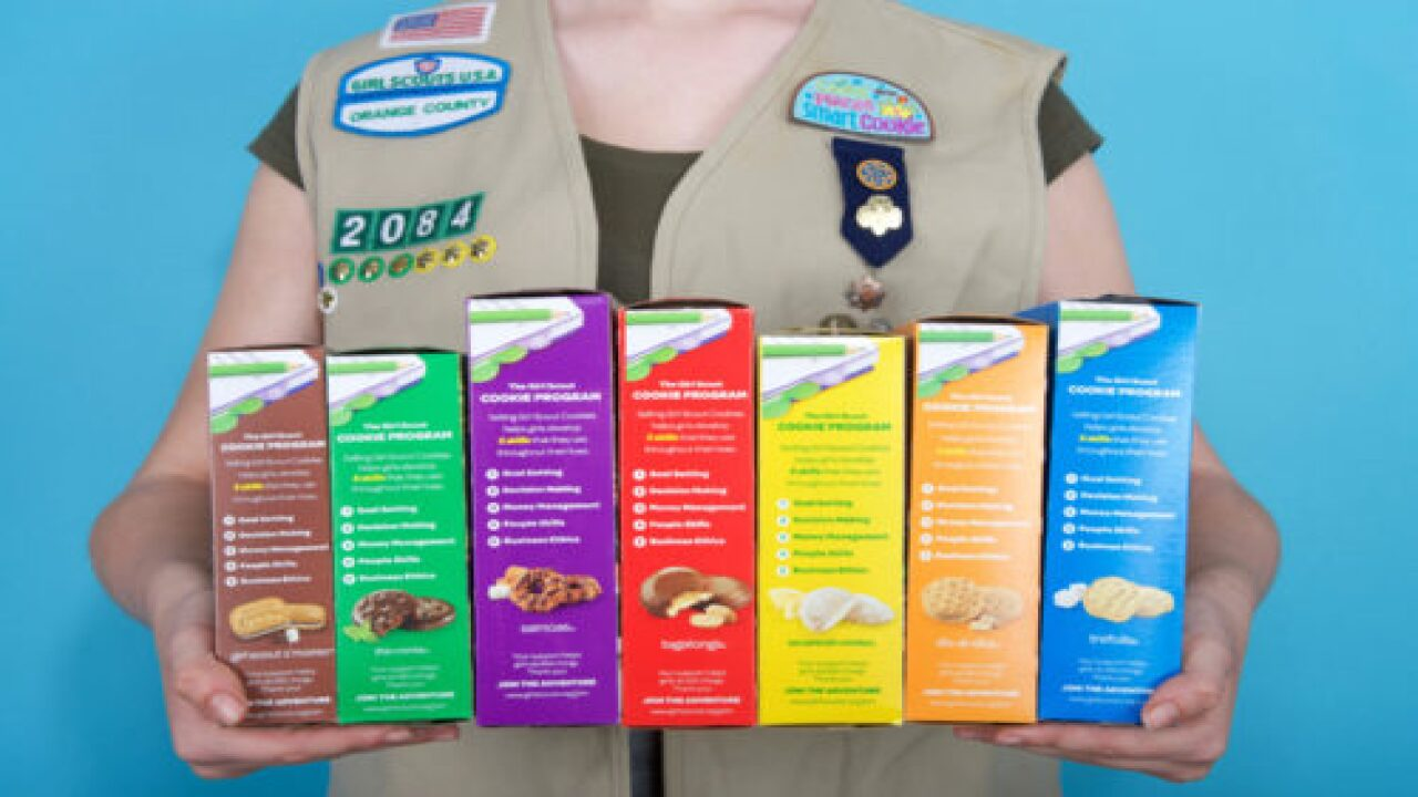 The Girl Scouts Are Debuting A Brand-new Cookie Flavor