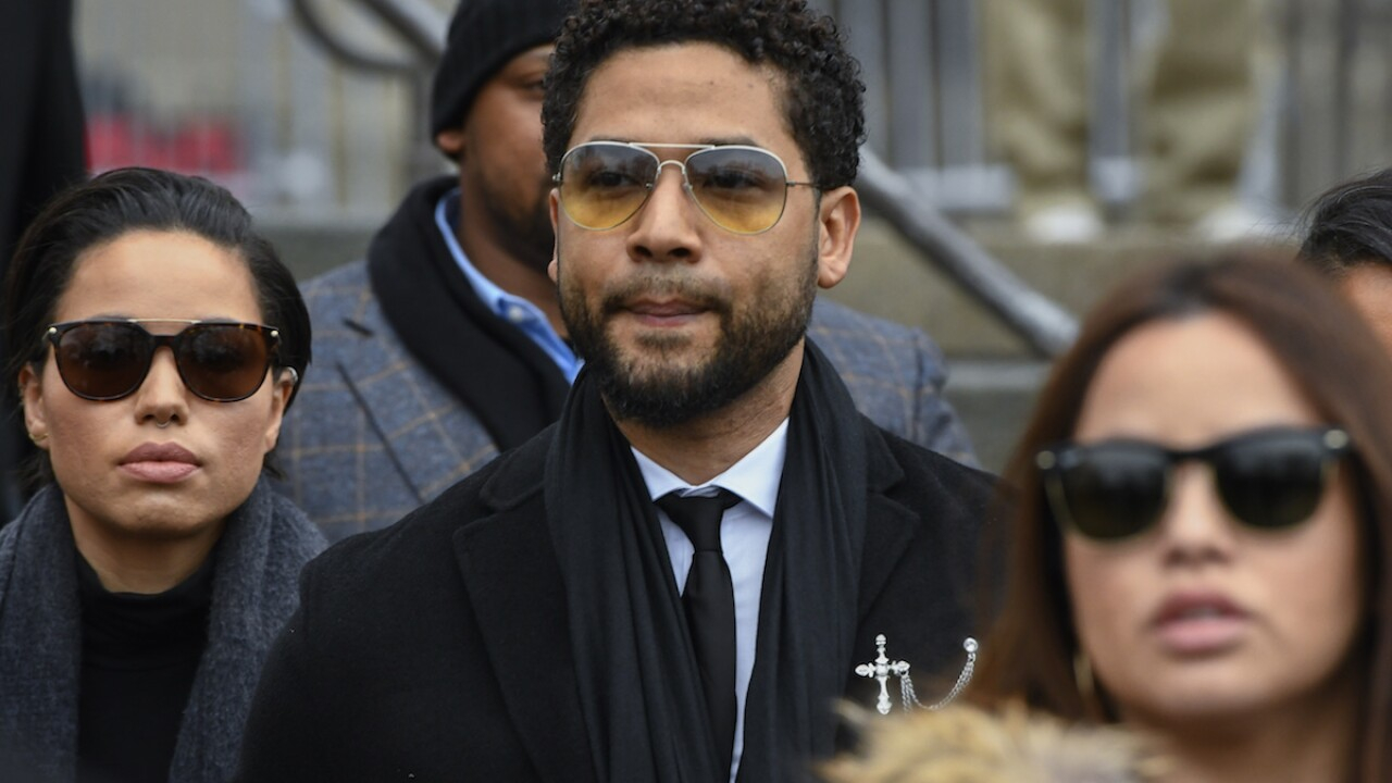 Judge tosses out Jussie Smollett's double jeopardy claim
