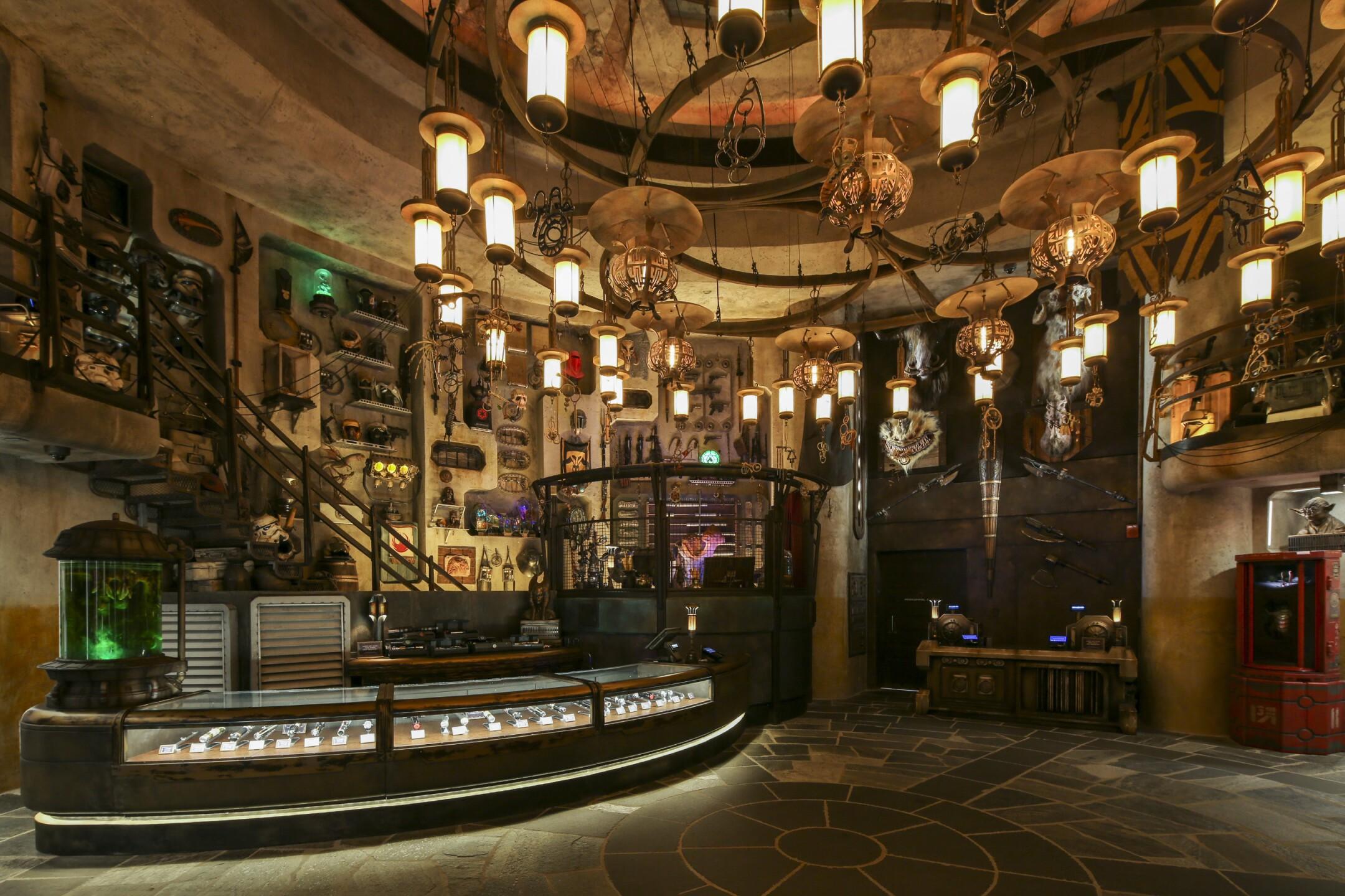 Dok-Ondar's Den of Antiquities in Star Wars: Galaxy's Edge