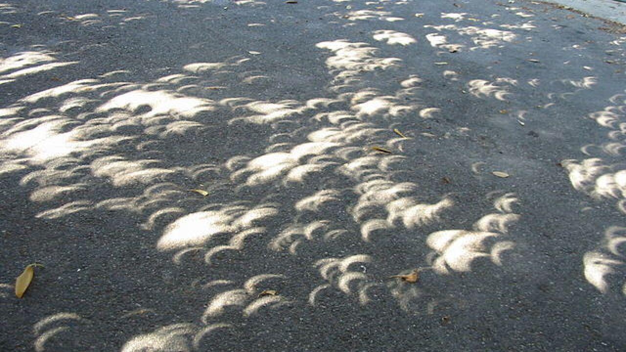 No eclipse glasses? Safe and unique viewing alternative
