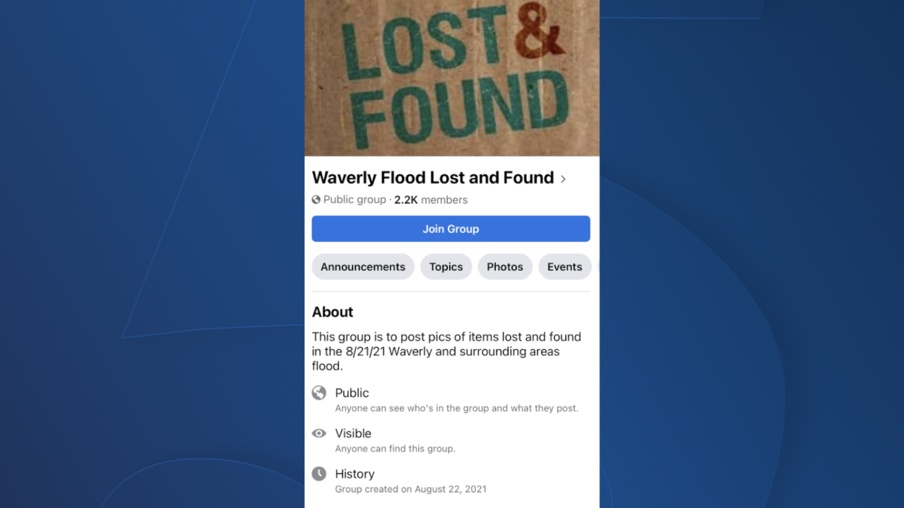 waverly lost and found