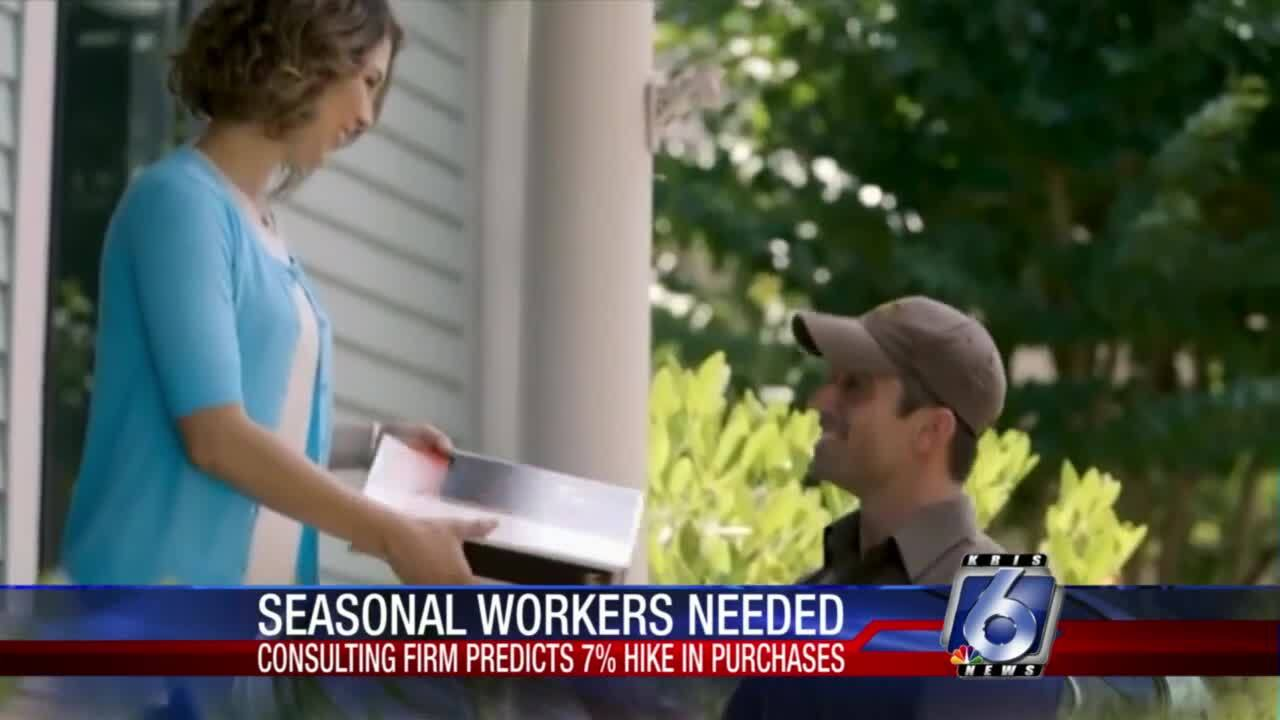 Seasonal workers needed for busy 2021 holiday season