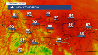 Heat continues for MT Wednesday