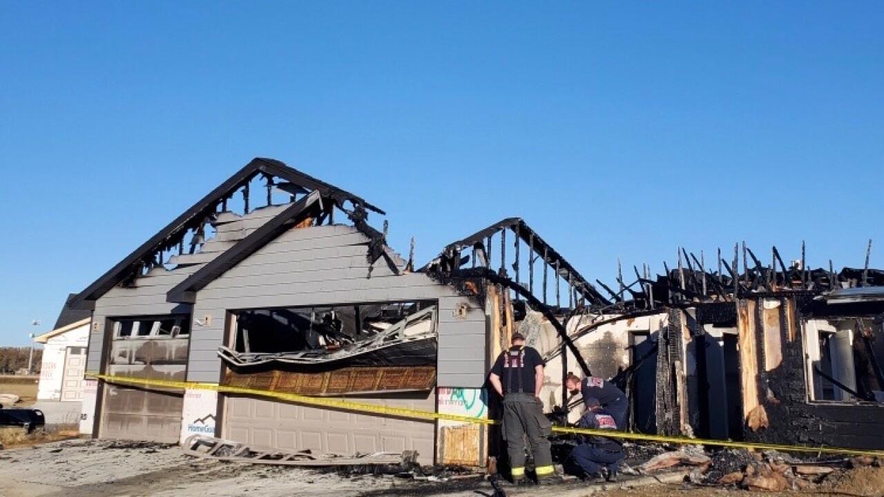 Fire destroys duplex on Billings West End