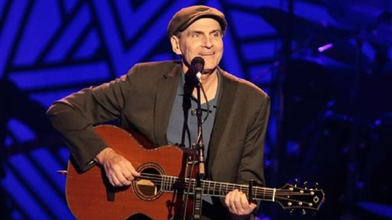 James Taylor to donate money to Fort McMurray