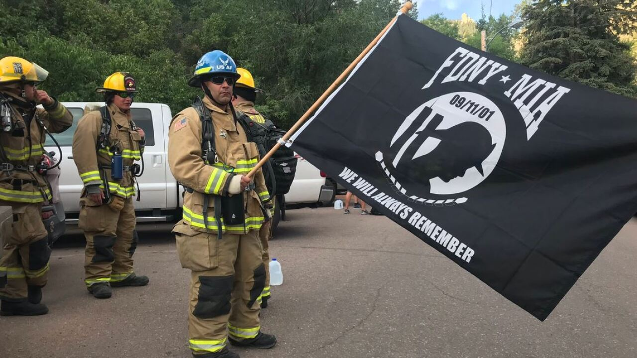 Firefighters to climb the Incline