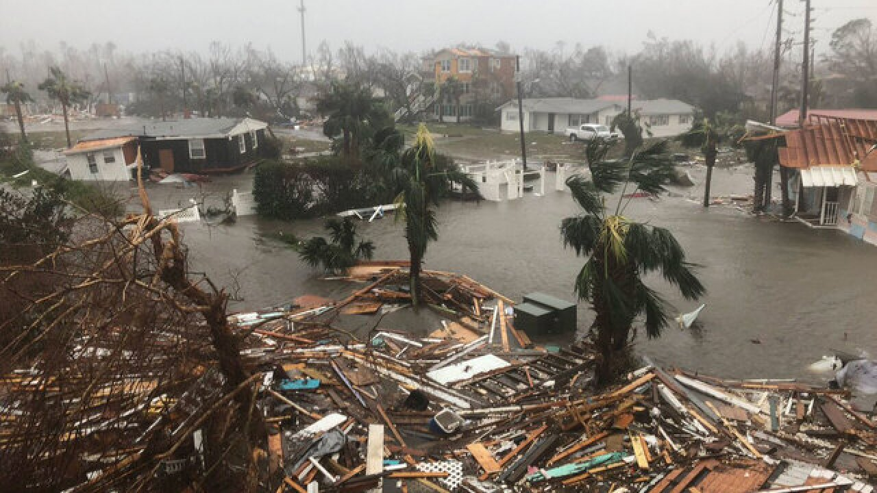 Hurricane Michael strengthens to a Cat 3 storm