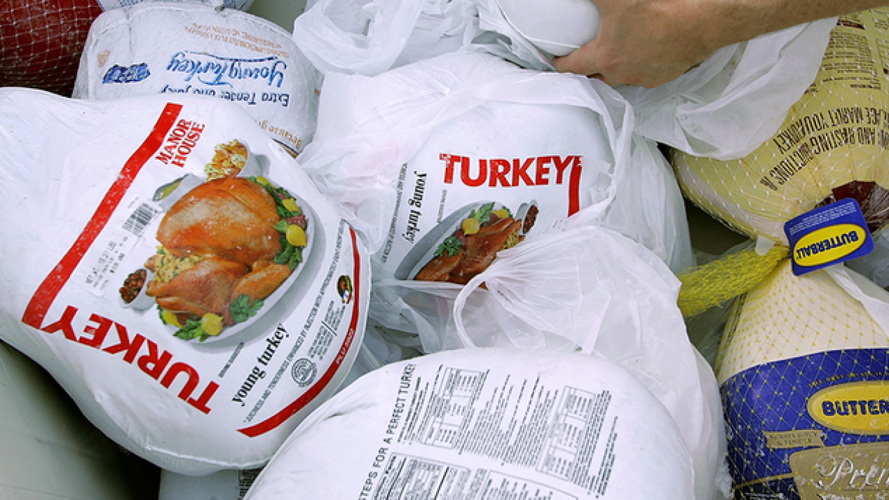 Thanksgiving Public Service Announcement: How to safely thaw a turkey