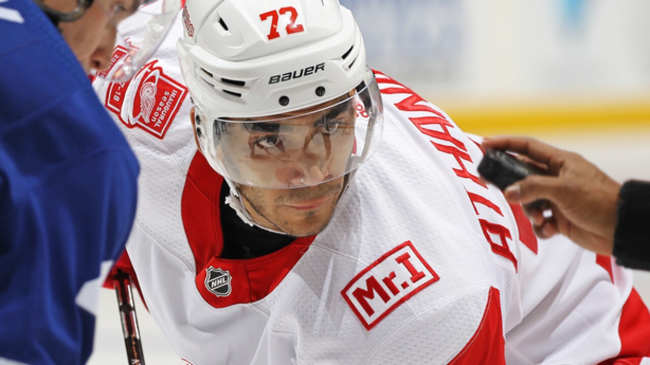Red Wings, Andreas Athanasiou agree to two-year extension