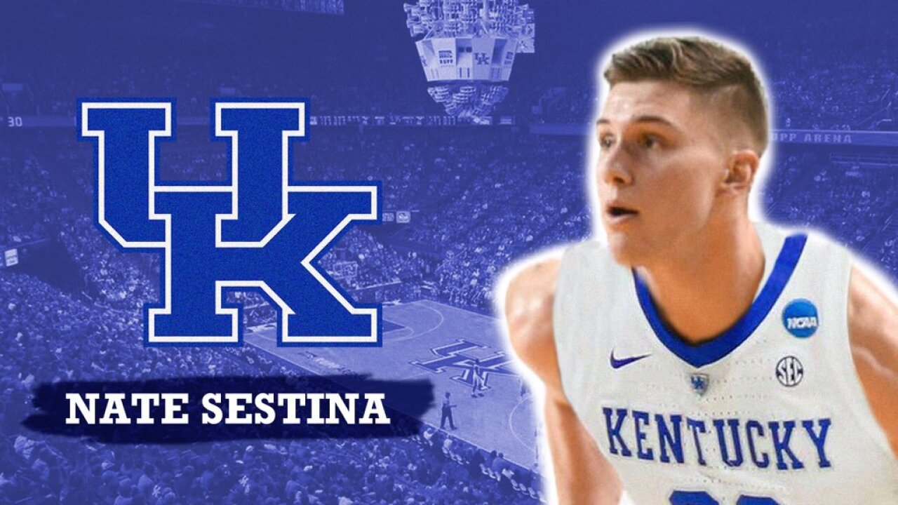 Nate Sestina Commits To Kentucky