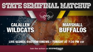 LIVE FOOTBALL SCORES: Calallen Wildcats vs Marshall Buffalos