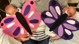 Wisconsin hospital dresses up NICU babies for Halloween to bring some comfort to families