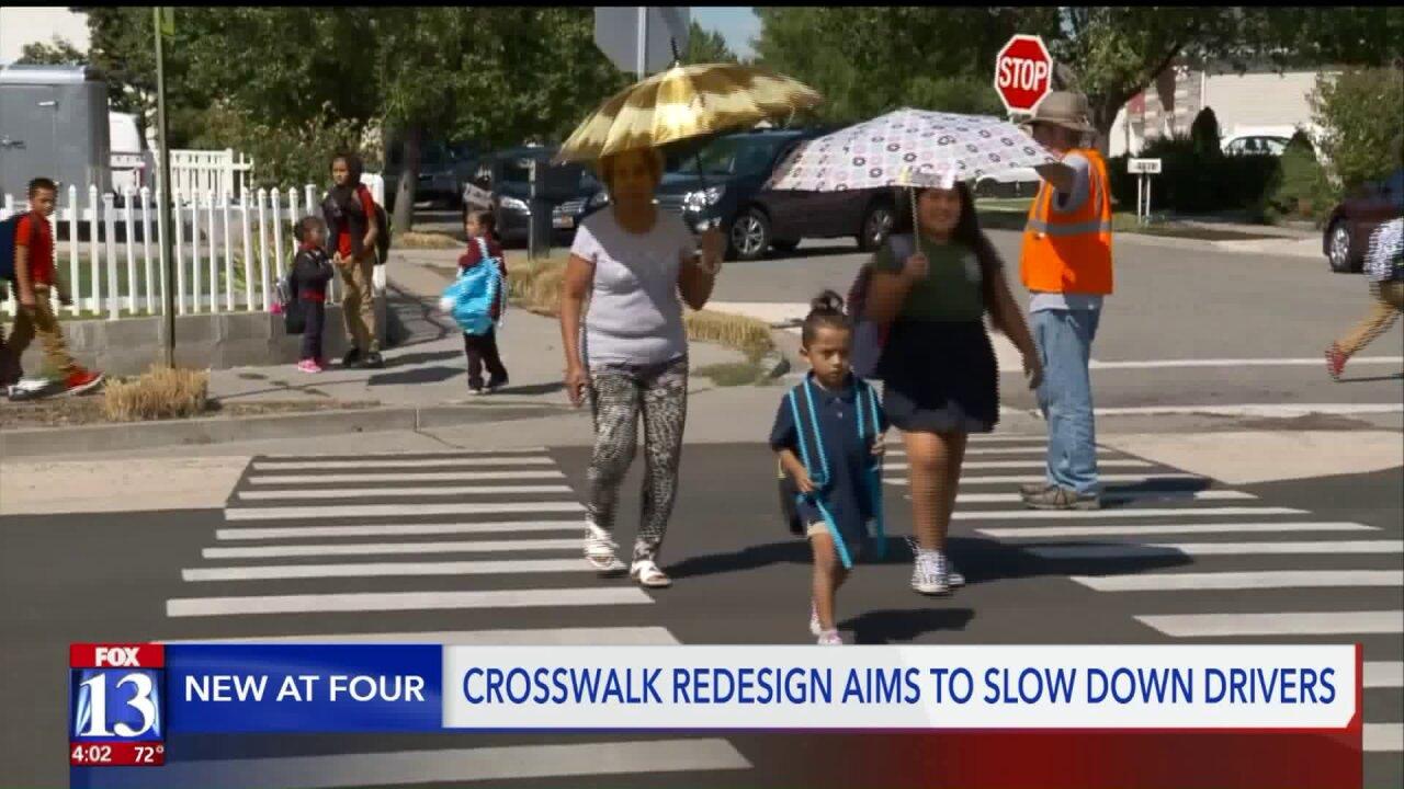 Salt Lake City hopes new 'bulb outs' will make school crosswalkssafer