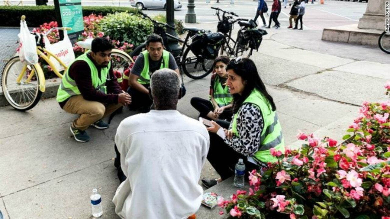 Medical students take to the streets to give free care to Detroit's homeless