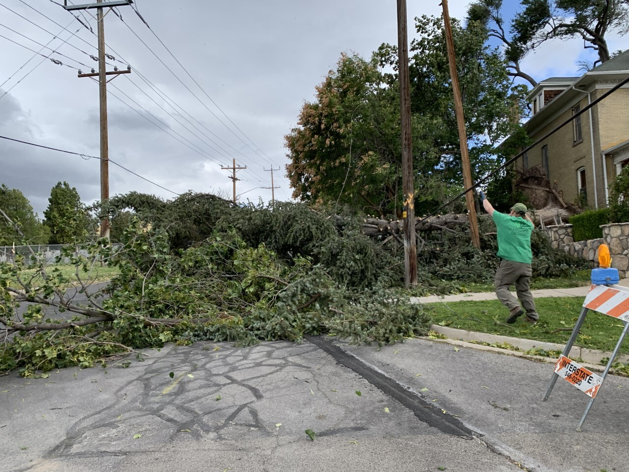 Damage in The Avenues