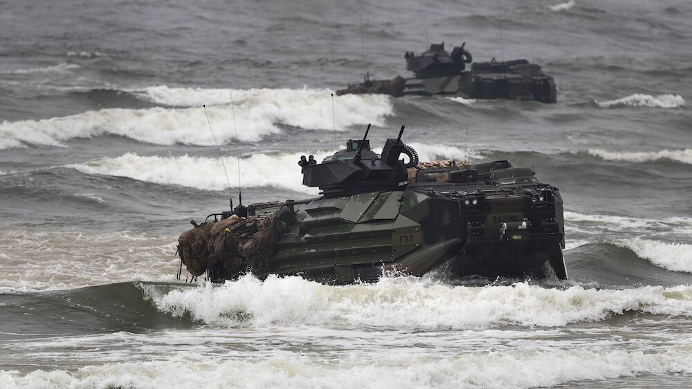Camp Pendleton-Marine dies, others in unit missing in training accident off San Clemente Island